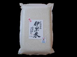 滋賀県産コシヒカリ・高島産コシヒカリ・伊黒米-真空パック5kg
